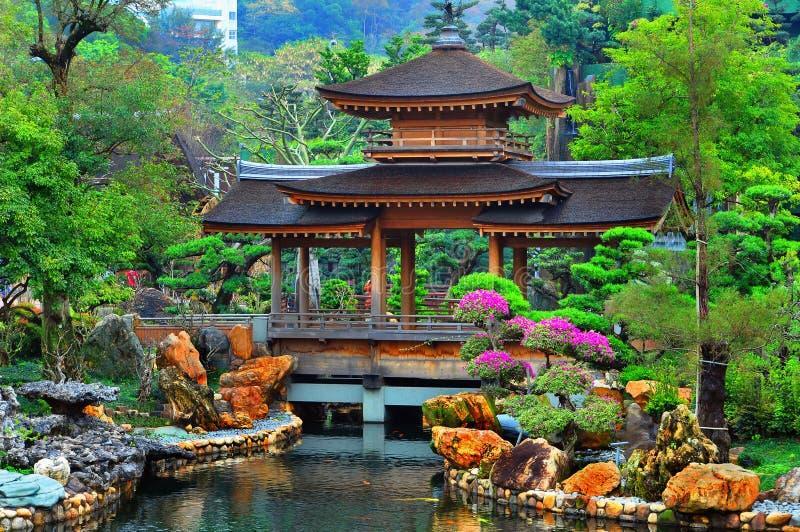 trädgårds- pagodazen för kines