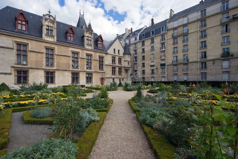 trädgårds- paris royaltyfria bilder