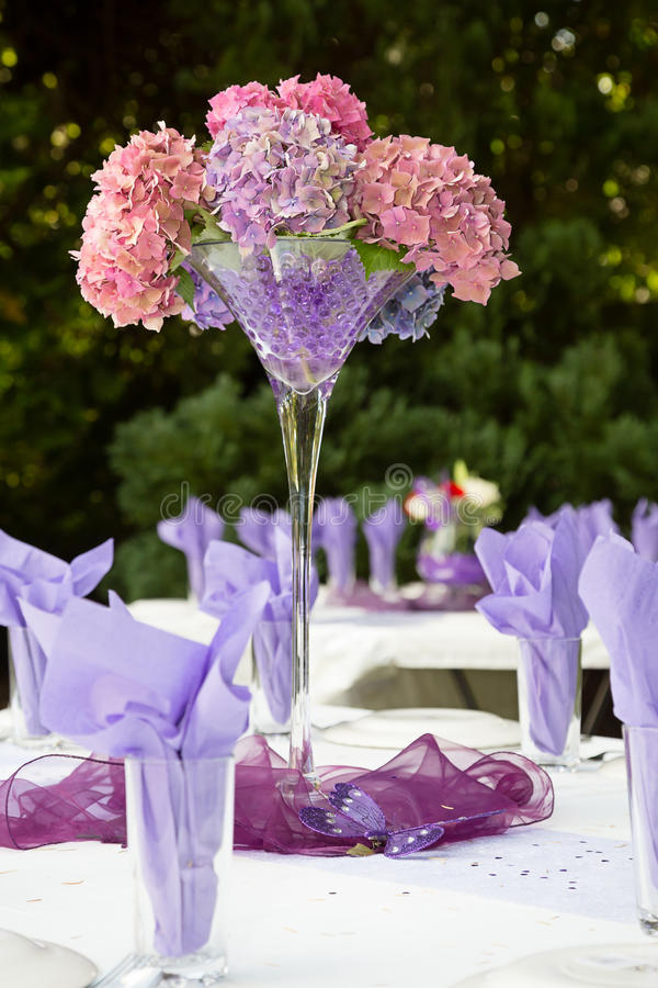 Trädgårds- parti royaltyfri foto
