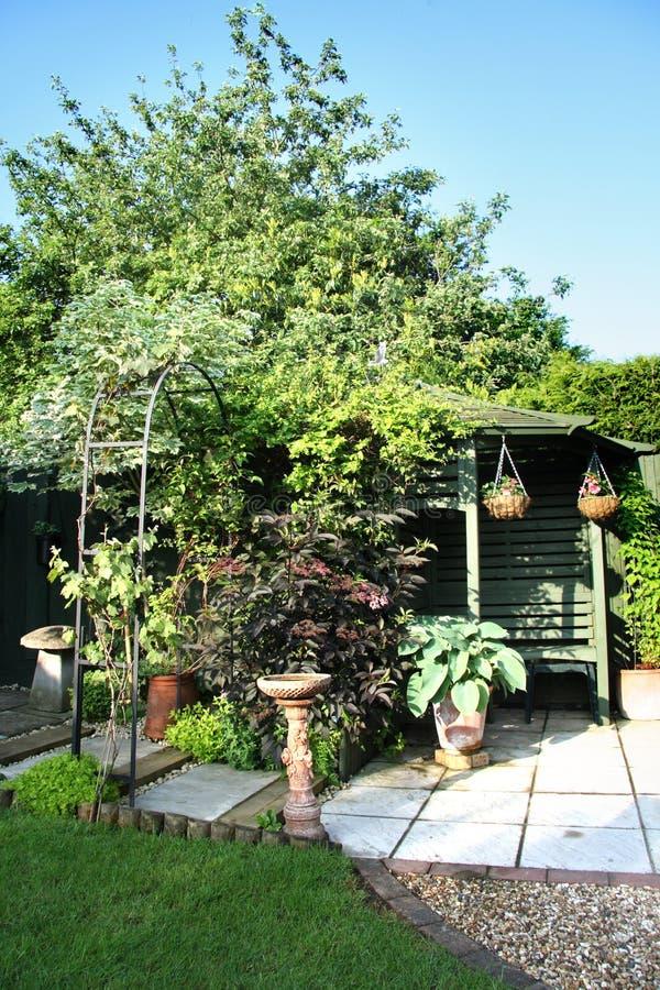 trädgårds- plats för engelska royaltyfria bilder