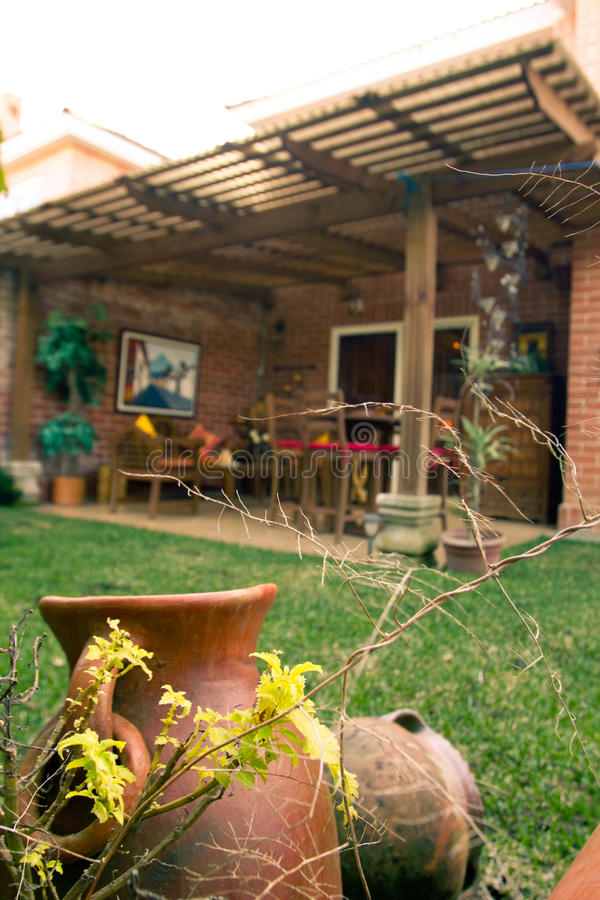 Trädgårds- sikt arkivfoton