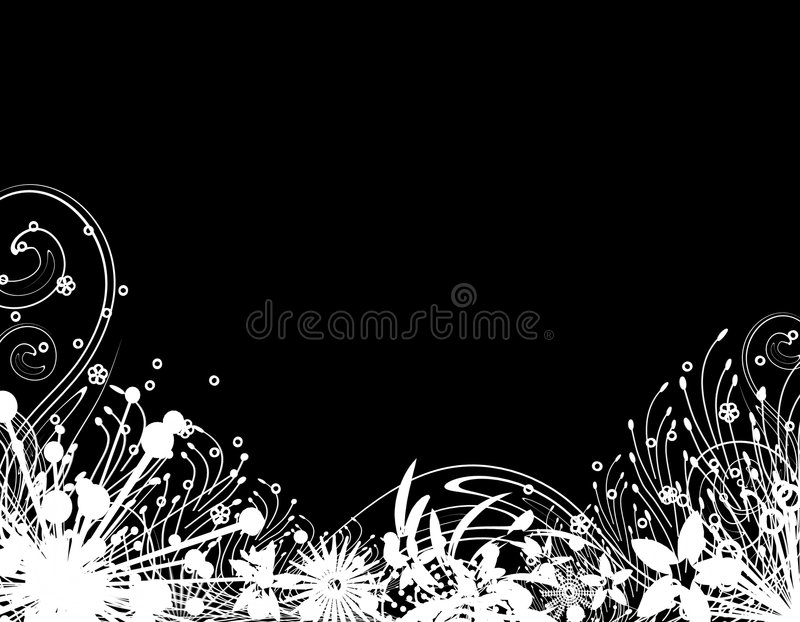 Download Trädgårds- Silhouettevinter Stock Illustrationer - Illustration av matris, december: 3528942