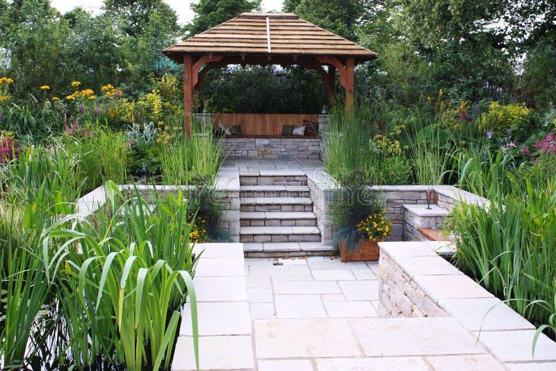 trädgårds- skydd royaltyfria foton