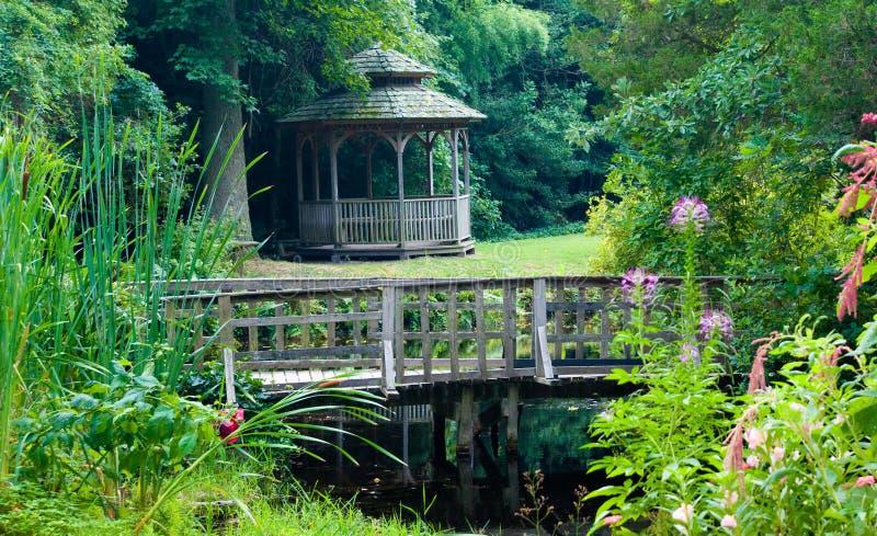 trädgårds- stillsamt royaltyfri foto