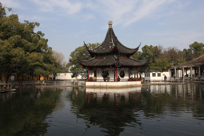 trädgårds- suzhou royaltyfri foto