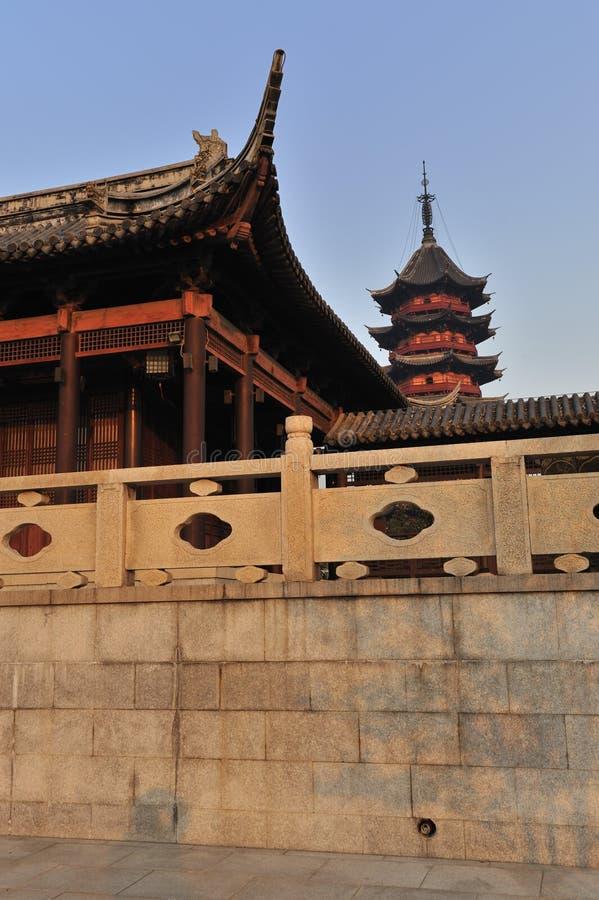 trädgårds- suzhou arkivfoton