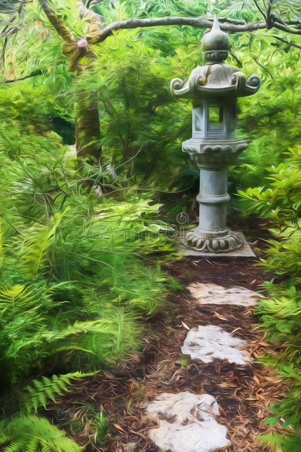 trädgårds- tea arkivbilder
