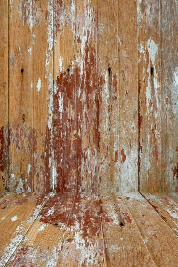 TräGrunge texturerar använt som bakgrund royaltyfria bilder
