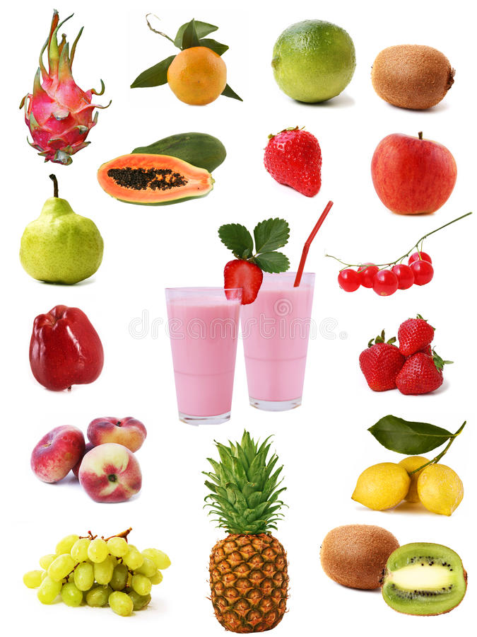 Trägt Ansammlung Früchte lizenzfreies stockfoto