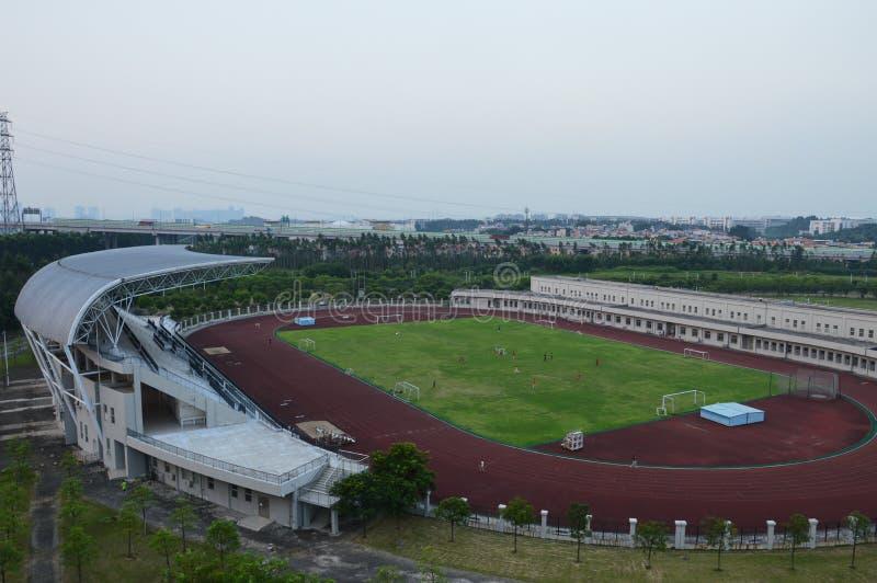 Trägt Stadion zur Schau lizenzfreie stockfotos