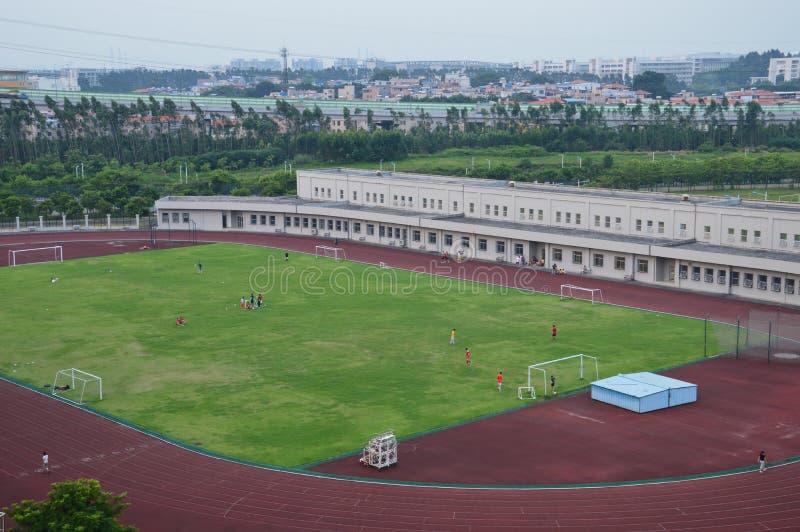 Trägt Stadion zur Schau lizenzfreies stockbild