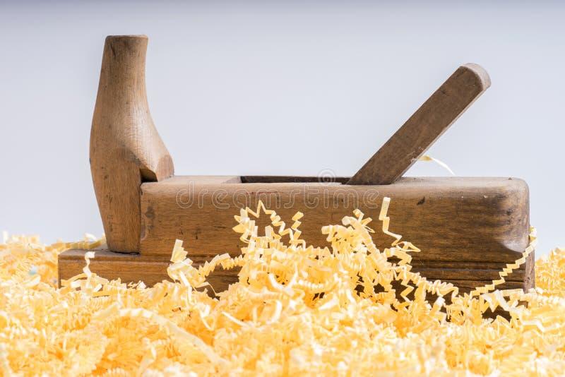 Trähyvlare för snickeri arkivfoton