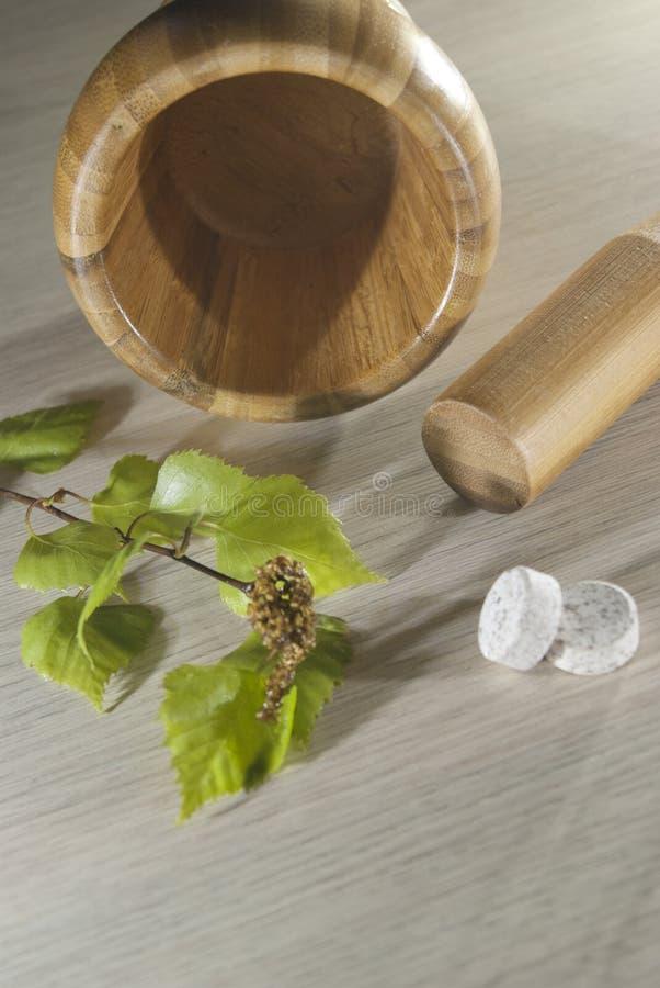 Träpå ett pundhjälpmedel, nya sidor och minnestavlor arkivfoton