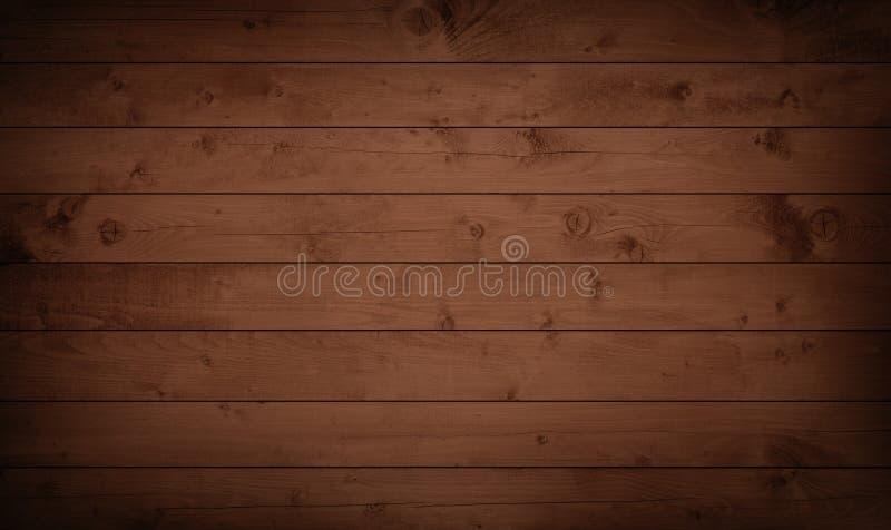 Träplankor för mörk grungebrunt, tabletop, golvyttersida royaltyfri foto