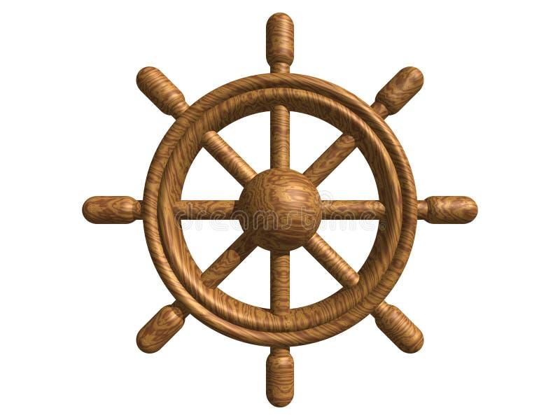 träroder royaltyfri illustrationer