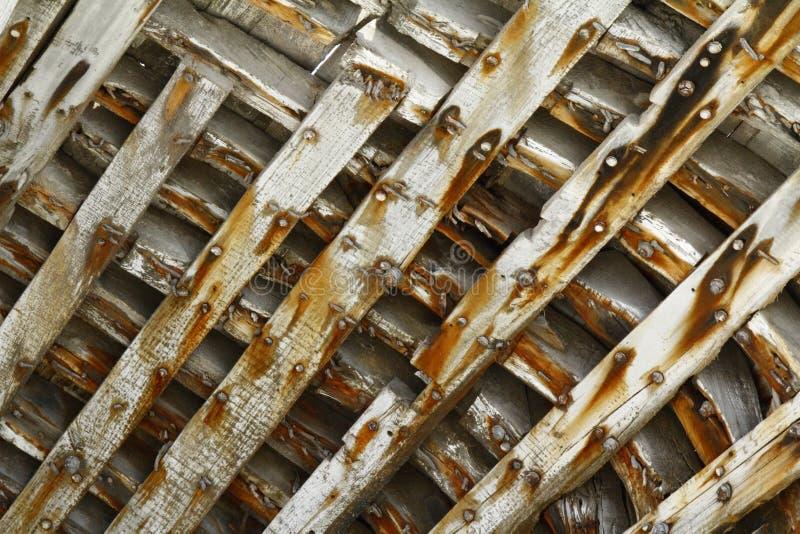 Träskeppsbrutet Skepp Inom Stöd/modell/bakgrund Arkivfoton