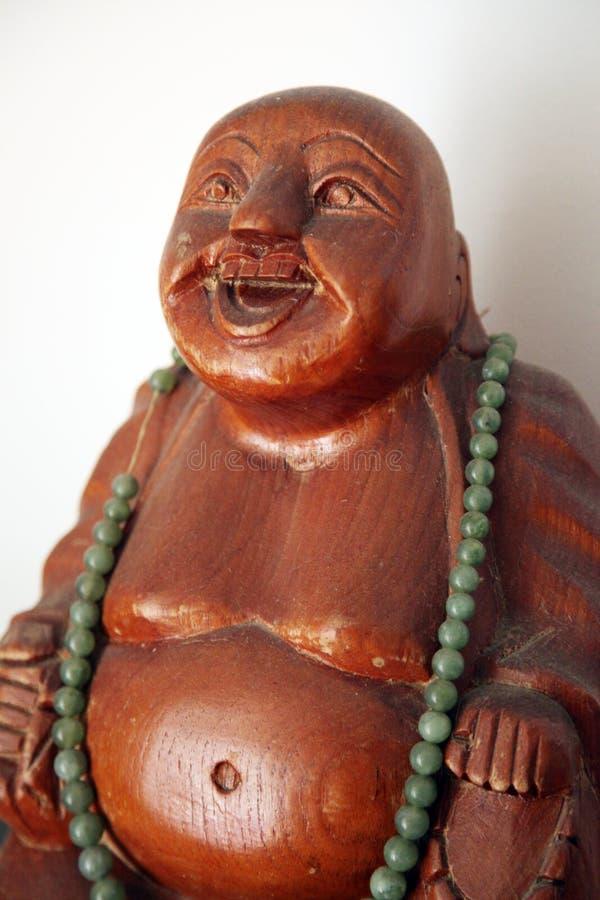 Träskratta Buddha royaltyfria foton