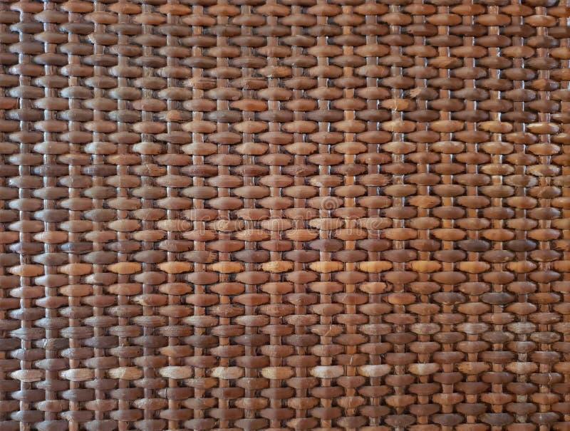 Trätapet för korgtexturbakgrund arkivfoto