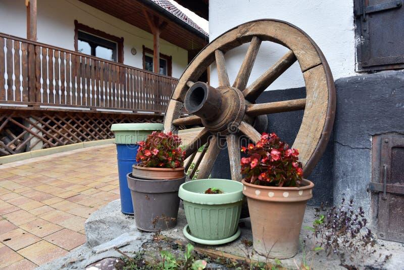 Download Trätappning Rullar In En Lantlig Domstol Fotografering för Bildbyråer - Bild av textur, gardening: 78732355