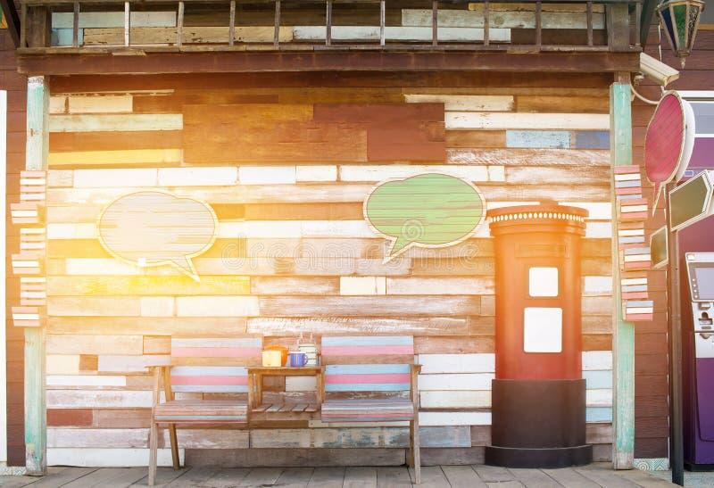 Trätappningtexturbakgrund för bakgrund Gammal shab för tappning stock illustrationer
