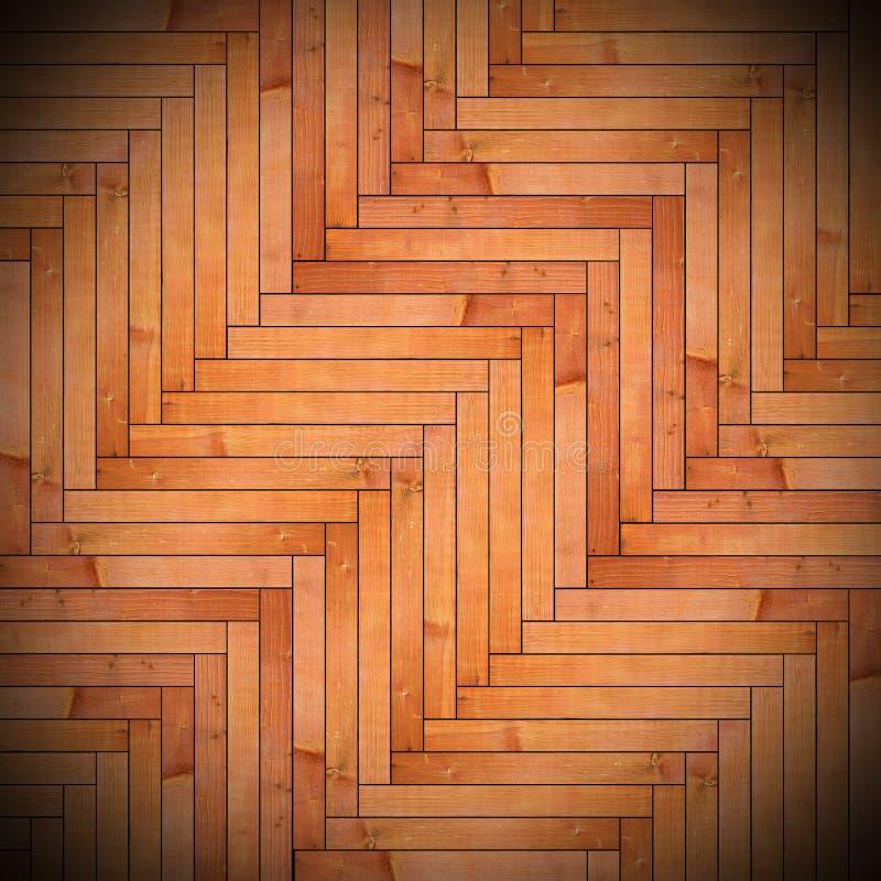 Trätegelplattor på golvtextur arkivfoto