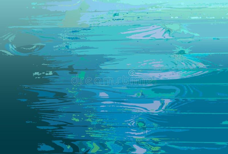 Trätextur för färgrik bakgrund royaltyfri illustrationer