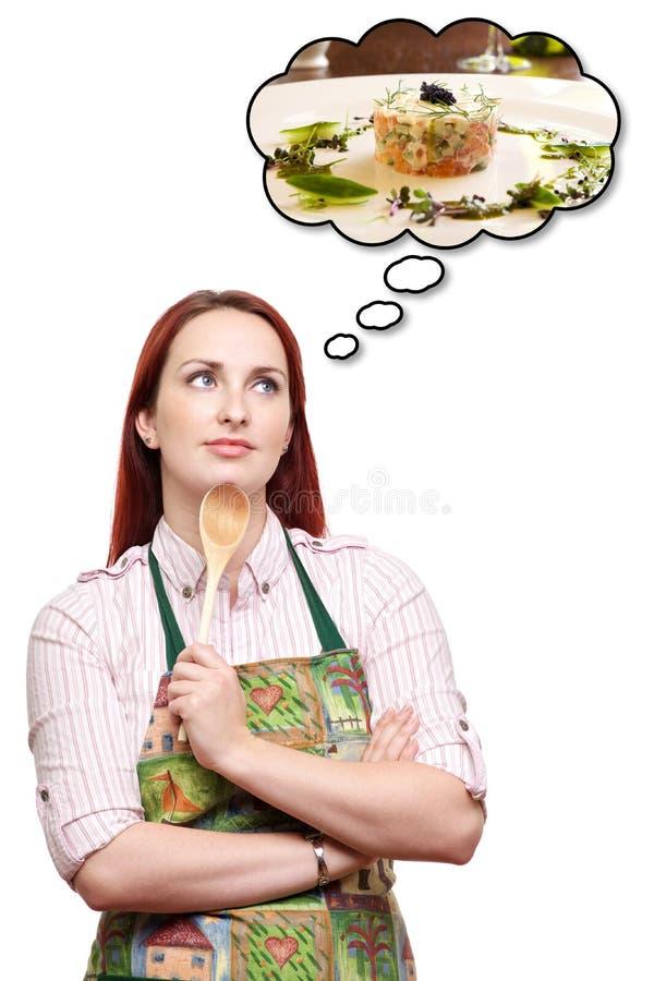Träumen einer speziellen Abendessenmahlzeit stockfotos