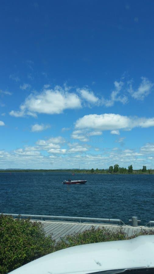 Träumen eines Bootes lizenzfreie stockfotografie
