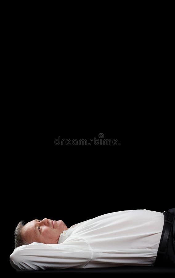 Träumen zu seinem Geschäft stockbild