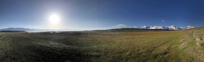 Träumendes Kalifornien, Ostsierra Berge lizenzfreies stockfoto
