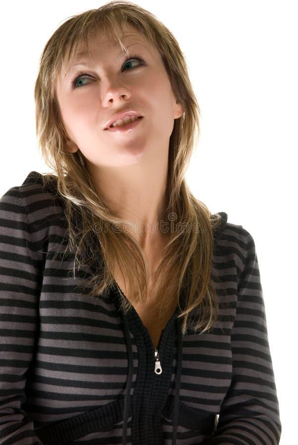 Download Träumendes Mädchen stockbild. Bild von mädchen, verfassung - 9098283