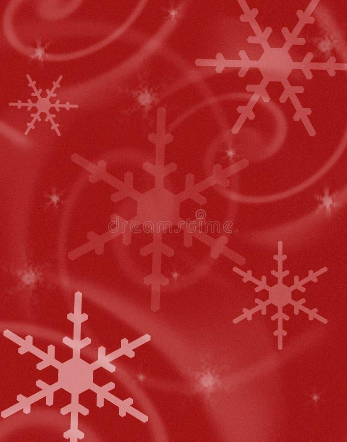 Träumerischer Schnee-Hintergrund lizenzfreie stockfotos