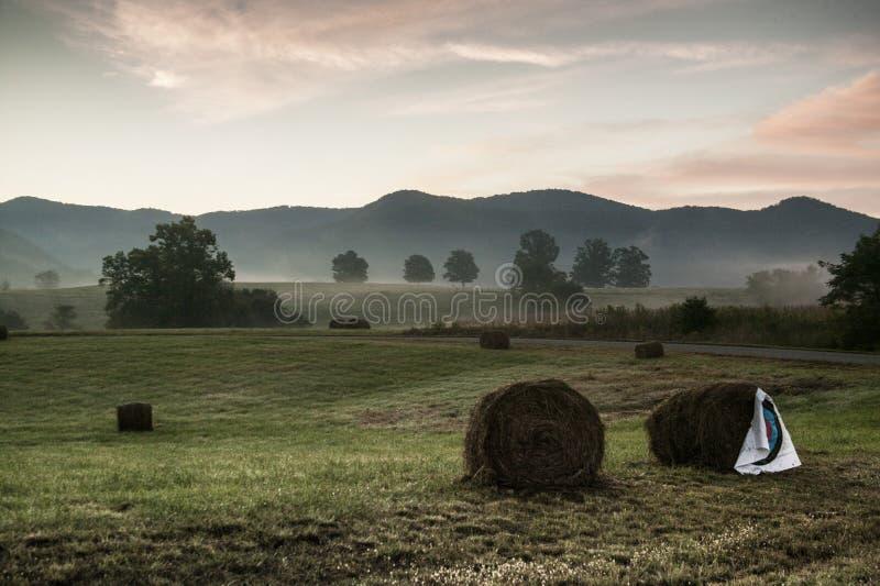 Träumerisches Mountainscape stockfoto