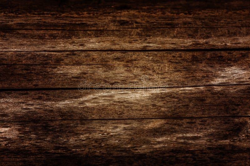 Träväggbakgrundsdesign tappning lantligt ridit ut trä Timmerdesignstil Wood plankor, bräden är gamla med en härlig ru arkivbild