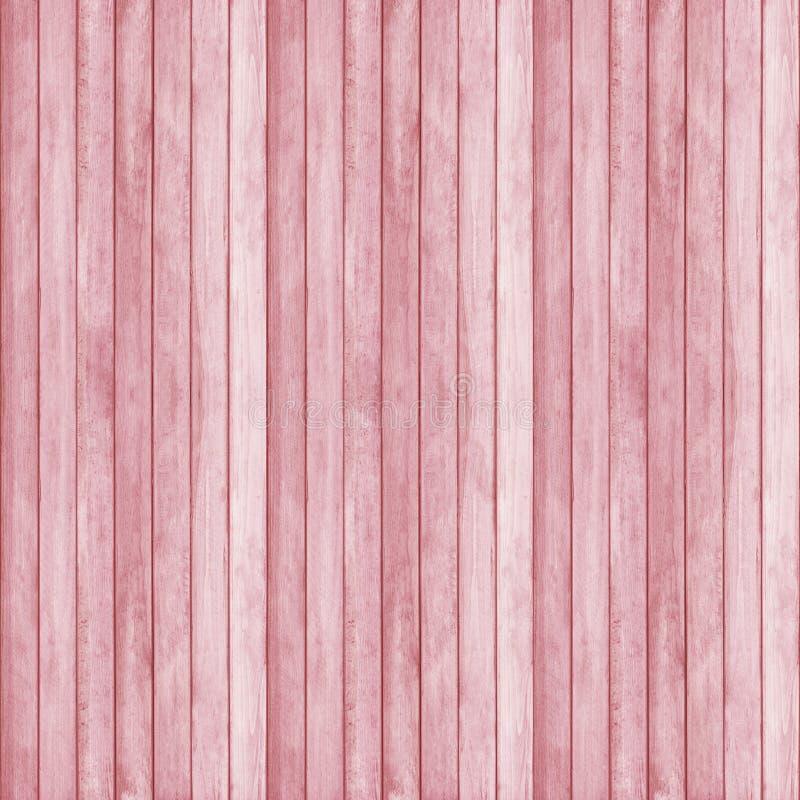 Träväggtexturbakgrund, färg för jordgubbeispantone royaltyfri foto