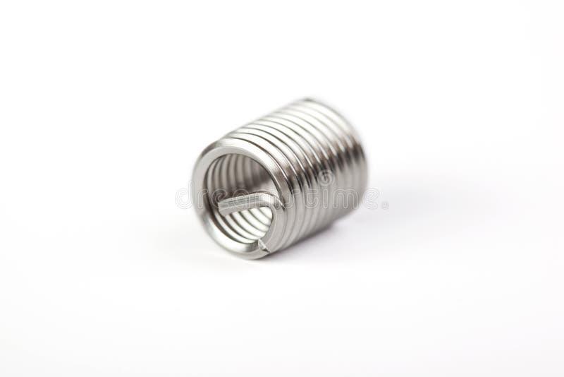tråd för mellanläggsrostfritt ståltråd arkivfoton