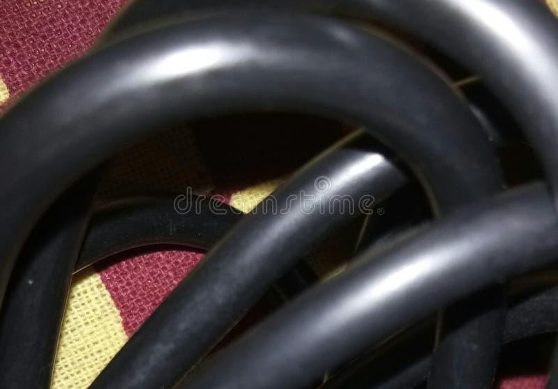 Trådar stänger sig upp royaltyfri bild