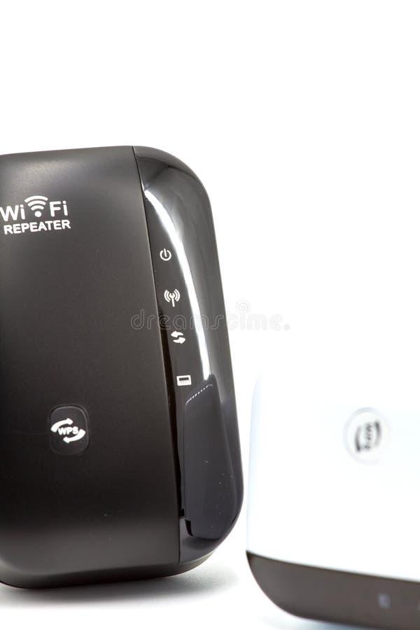 Trådlös WiFi repetervapenWifi Extender fotografering för bildbyråer
