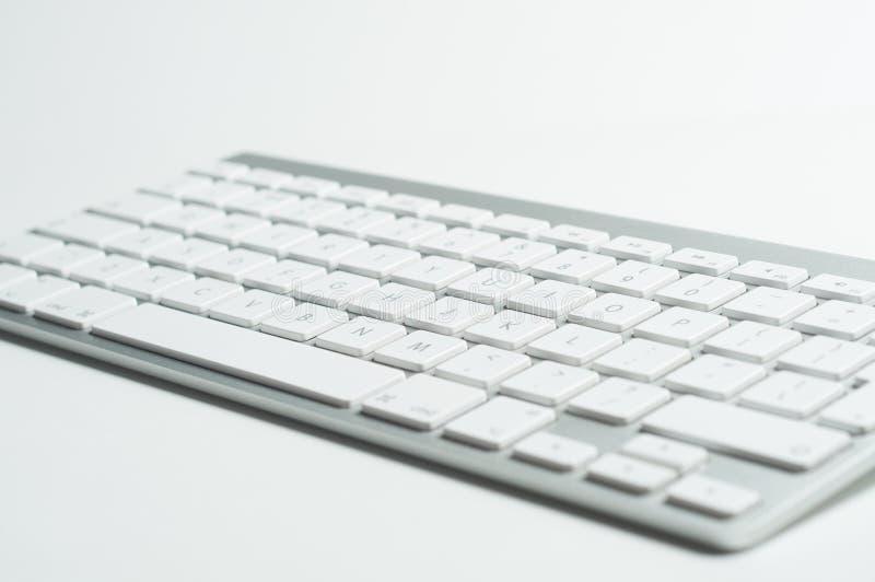 Trådlöst tangentbordslut upp arkivfoto