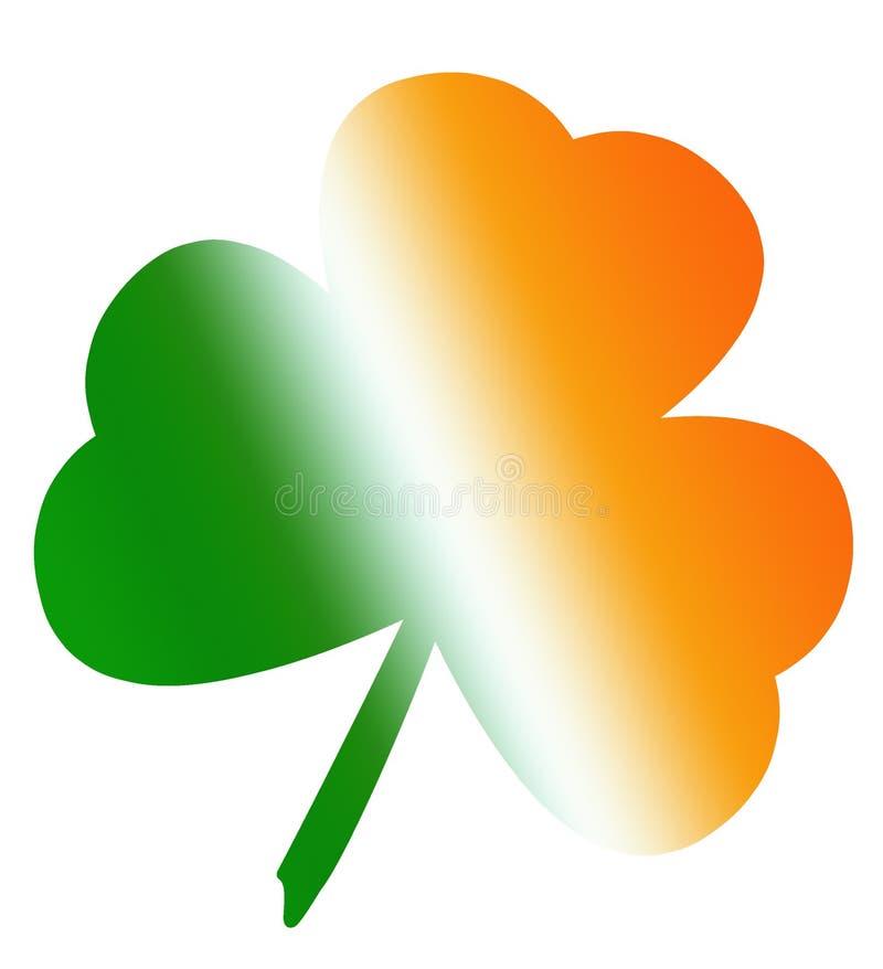 Trèfle irlandais illustration libre de droits
