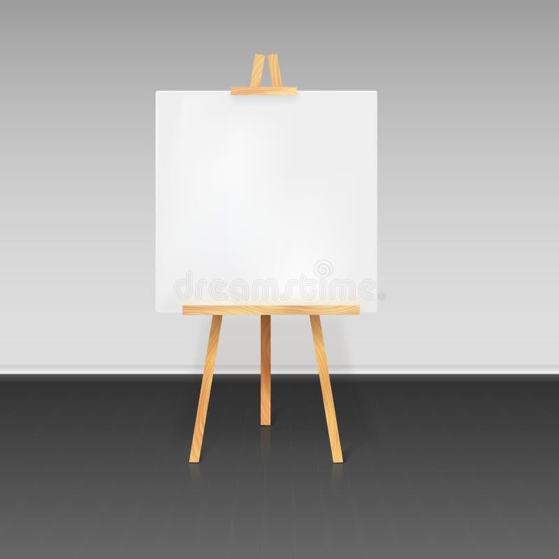 Tr pied en bois avec une feuille de papier blanche - Faire une enveloppe avec une feuille a4 ...