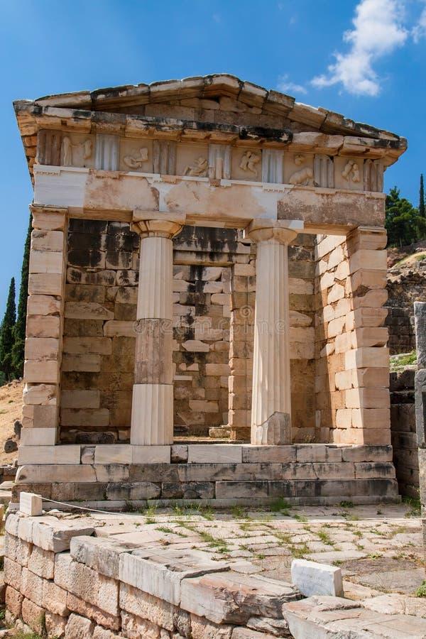 Trésor athénien images libres de droits