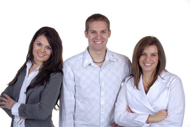 Três amigos foto de stock royalty free