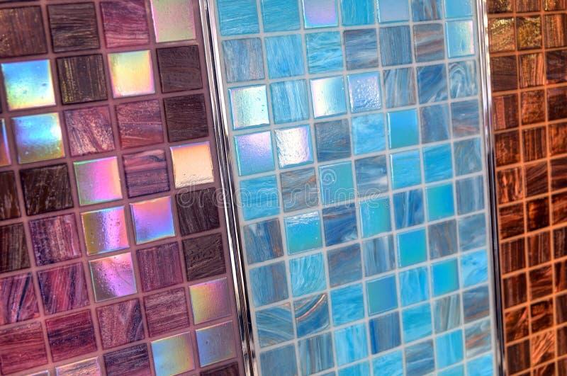 Três amostras de mosaico foto de stock royalty free