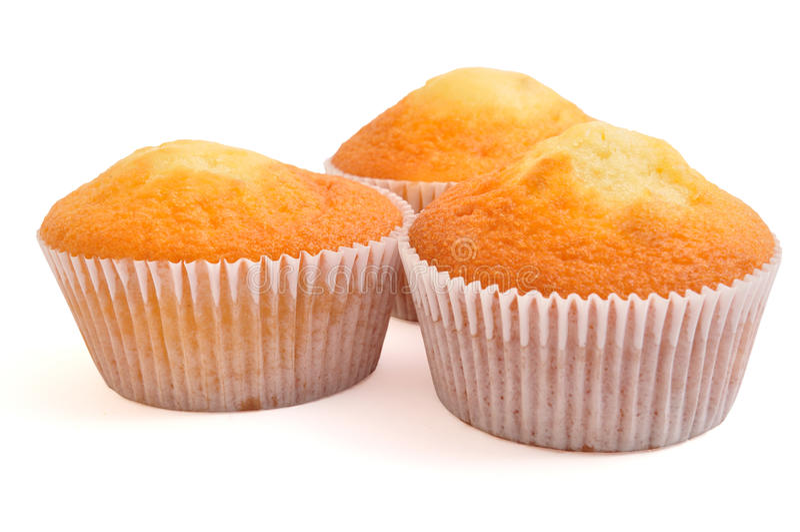 Três bolos feericamente foto de stock royalty free