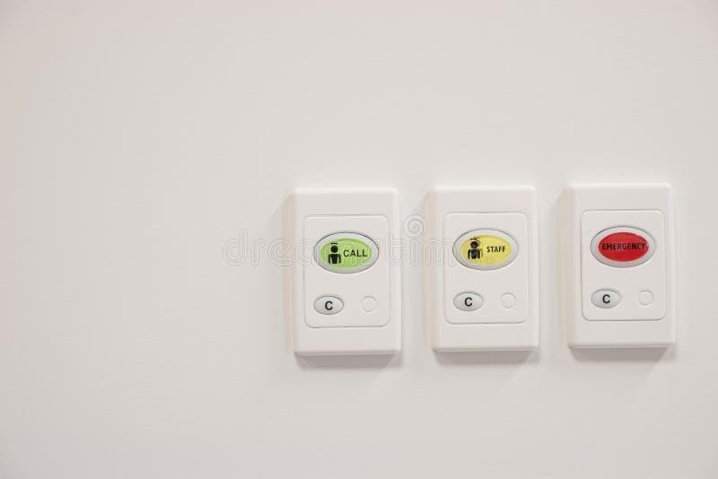 Três botões da chamada fotografia de stock royalty free