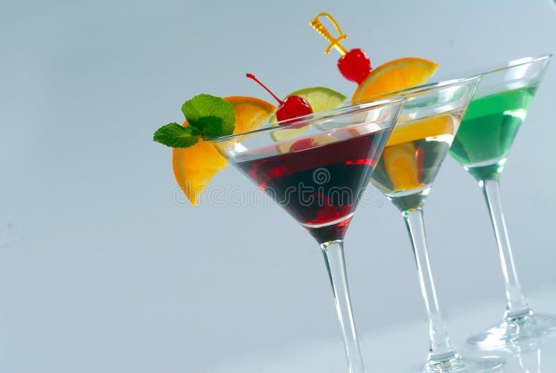 Três cocktail imagem de stock