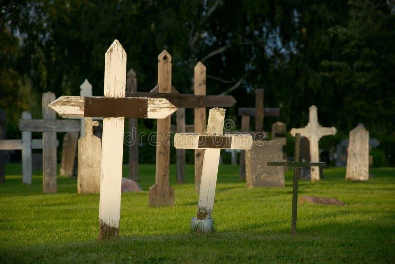 Três cruzes imagens de stock royalty free