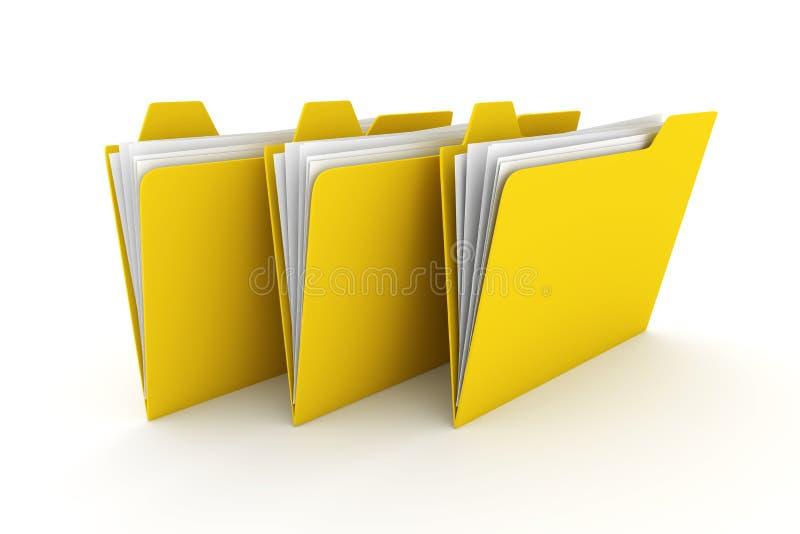 Download Três dobradores ilustração stock. Ilustração de dobrador - 12805241