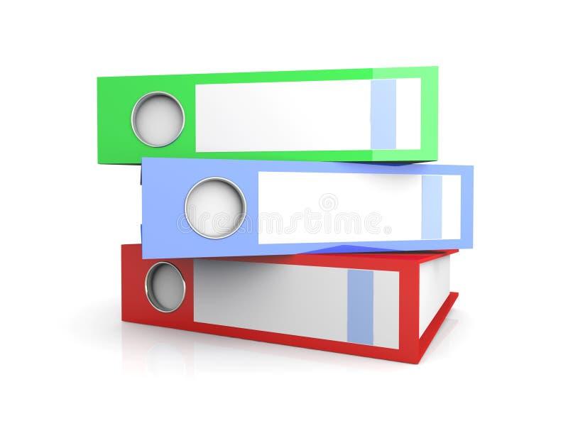 Download Três dobradores ilustração stock. Ilustração de negócio - 12805536